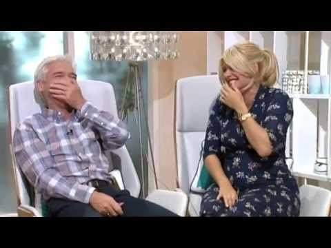Holly And Phil Laugh At Horrible Dish Of Banana, Fish And Garlic - This Morning 19th June 2014