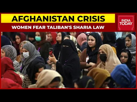 Women Fear Taliban's Sharia Law in Afghanistan As Terror Surges | India First With Gaurav Sawant