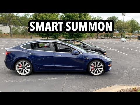 Tesla Model 3 Smart Summon initial review, thoughts and ideas