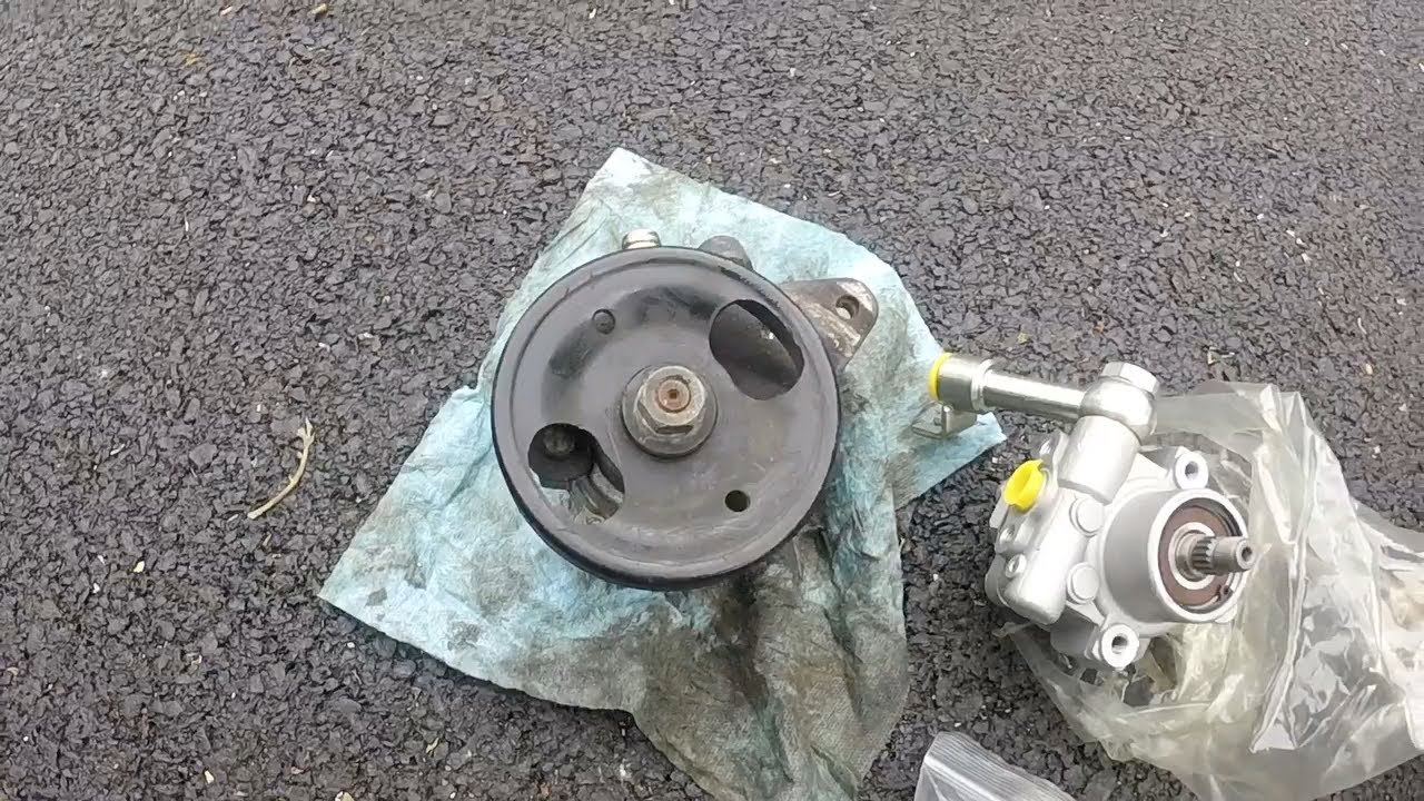 How Much Is A Power Steering Pump >> Power Steering Pump Replacement 04 08 Maxima Silver Surfer