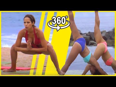 VR Bikini Yoga - Venice - Lesson 2: Standing Poses