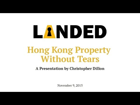 Hong Kong Property Without Tears
