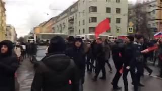 Митинг за бойкот выборов
