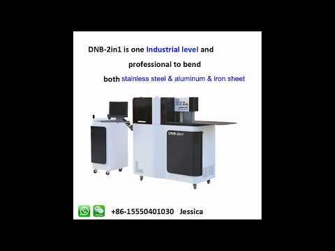 (apple) DNB 2in1 channel letter bending machine bending ss
