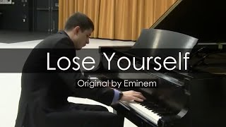 Eminem - Lose Yourself (Piano Cover)