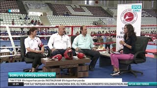 Spor Her Yerde - TRT SPOR / Türkiye Kick Boks Şampiyonası 2018 ELAZIĞ