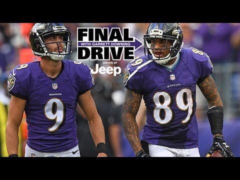 Steve Smith Cracks On Justin Tucker And 'Evolution of Kicking' | Final Drive | Baltimore Ravens