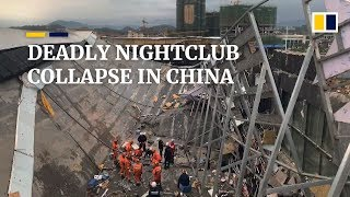 At least three killed, nearly 90 injured in nightclub roof collapse in China