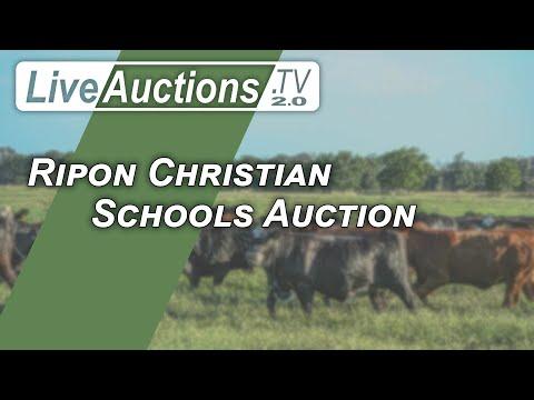 Ripon Christian Schools Auction