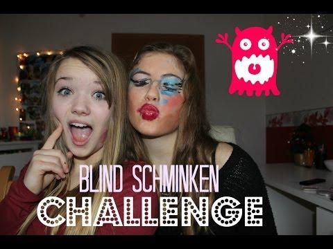 ich schminke sie BLIND | Blind schminken TAG
