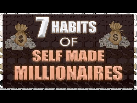 7 DAILY HABITS OF SELF MADE MILLIONAIRES (HINDI)