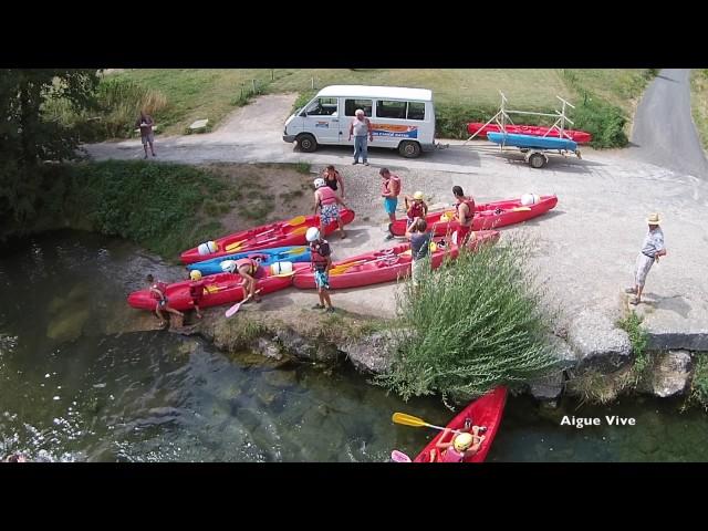 Canoë Gorges du tarn, Aigue vive