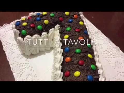 TORTA DI COMPLEANNO numero 7  TUTTI A TAVOLA  YouTube
