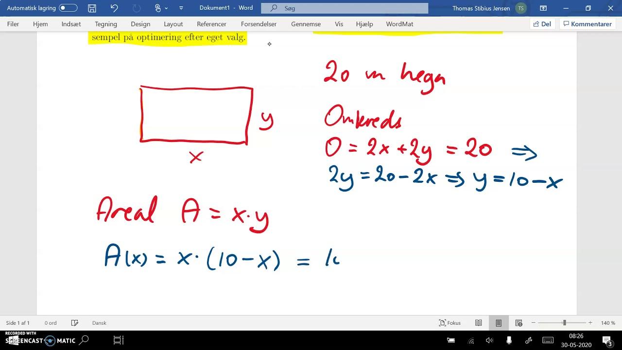 spg9 del3a optimering simpel