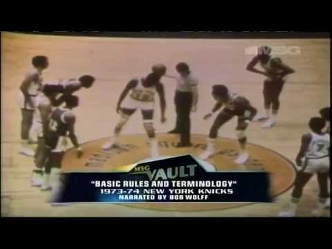 1973-74 Knicks - Basic Rules & Terminology (1/2)