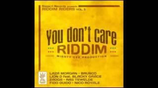 You Don't Care Riddim mix ( NOV 2012 ) by Castaparia Sound for WorldAReggae.com