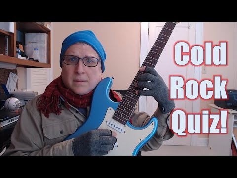Cold Rock Quiz! Plus ... Hexatonic??? Live Stream for 02/09/2019