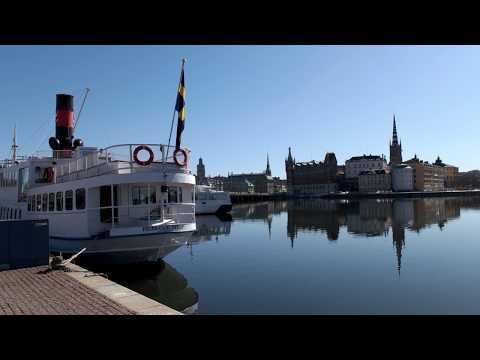 Stockholm City Tour part 1 Ultra HD 4K
