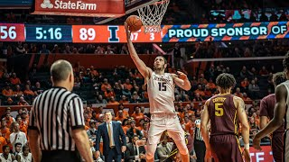 Illinois Men's Basketball Highlights vs. Minnesota | 1/16/19