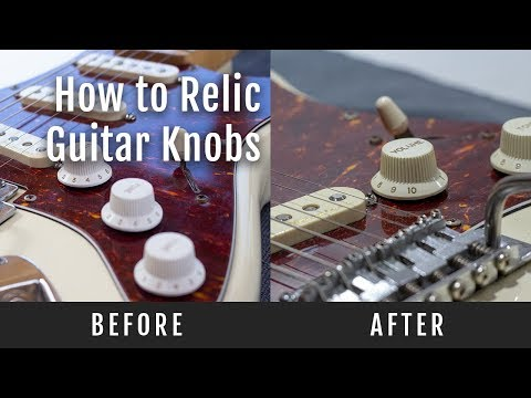 how-to-relic-guitar-knobs