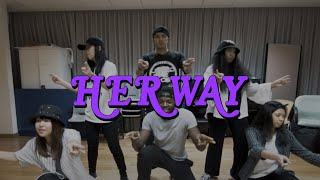 Chris Fonseca ft. Redeafination crew || Her Way Choreography :: By PARTYNEXTDOOR