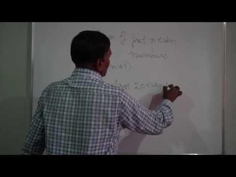 sum of n natural numbers