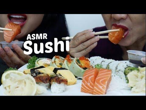 ASMR Sushi (EATING SOUNDS) NO TALKING | SAS-ASMR