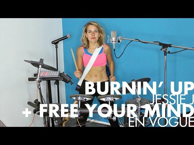 Burnin' Up Your Mind [Jessie J + En Vogue mashup One-Gal Band cover]