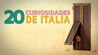 20 Curiosidades de Italia | El país del amor y el arte 🇮🇹