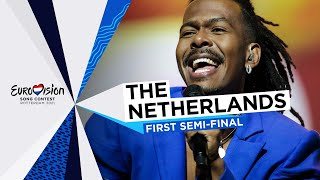 Jeangu Macrooy - Birth Of A New Age - The Netherlands 🇳🇱 - First Semi-Final - Eurovision 2021