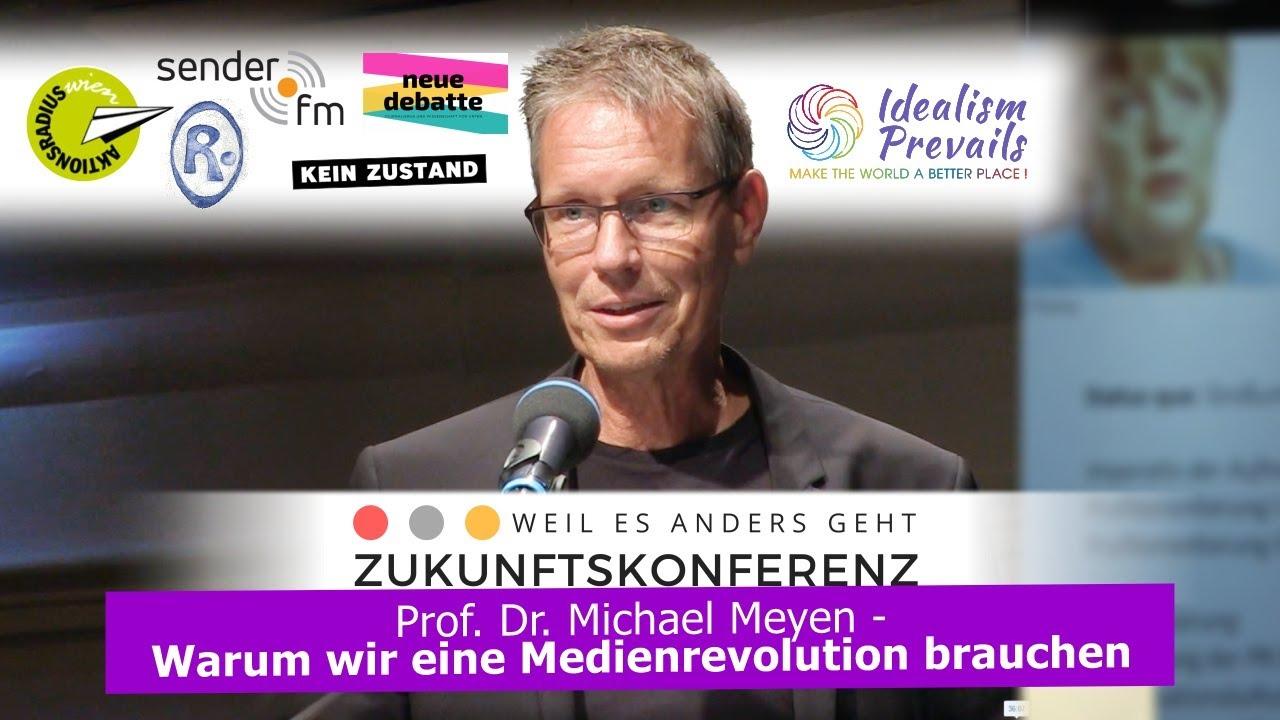 Prof. Dr. Michael Meyen – Die Zukunft des Journalismus: Warum wir eine Medienrevolution brauchen