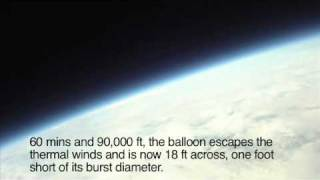 Space Balloon - Stratosphere Spacecraft Launched From Newburgh, NY