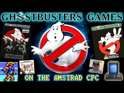 Ghostbusters Games On The Amstrad CPC! (With Philip of the Oliver Twins!)