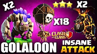 Th9 AIR STRATEGY GOLALOON / LAVALOON / GOLALO GUIDE | 3 Star TH9 Clash of clans