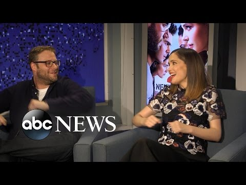 Seth Rogen and Rose Byrne Sing 'Tomorrow' Together