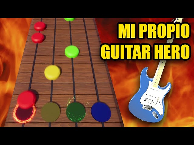 Creo mi propio Guitar Hero de 0 y te lo explico