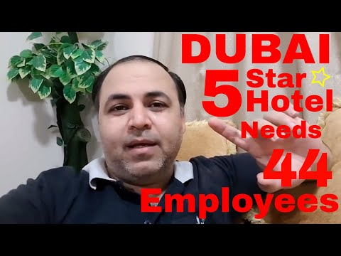 Dubai 5 Star Hotel Needs 44 Employees || Jobs in Dubai