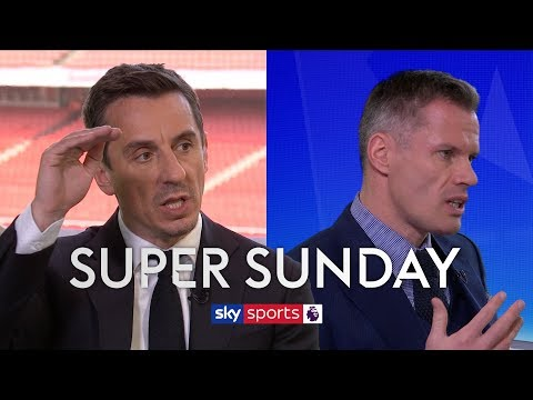 Do Gary Neville and Jamie Carragher think Top 4 would be a success for Arsenal?