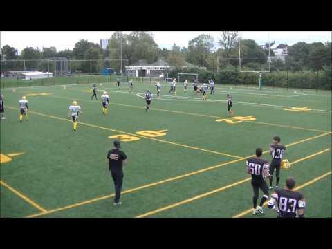 Ghent Gators vs Luxembourg Steelers of Dudelange - Atlantic Cup 2015