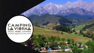 🏕 La VIorna un #Camping en #PicosdeEuropa  ⛰ donde prima la tranquilidad y el silencio