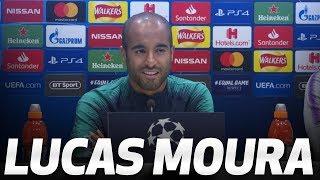 PRESS CONFERENCE | LUCAS MOURA PREVIEWS AJAX CHAMPIONS LEAGUE SEMI-FINAL FIRST LEG