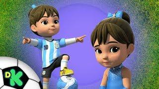 Entre o futebol e o tango | Super Wings | Discovery Kids Brasil