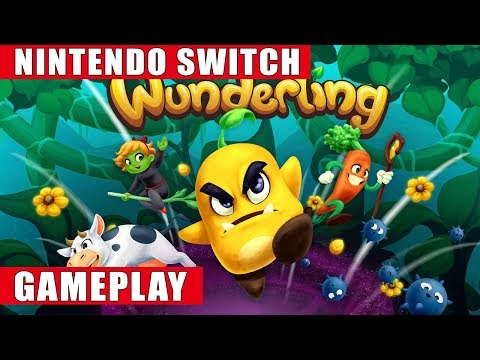 Wunderling Nintendo Switch Gameplay