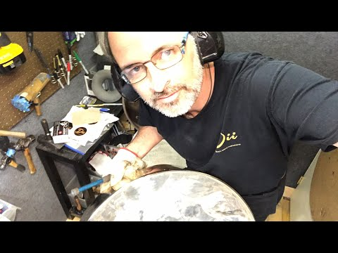 How to retune a newly chrome plated steel drum pan