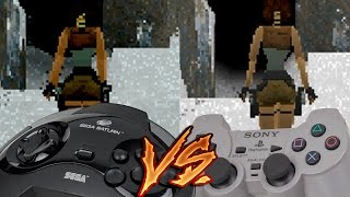 Sega Saturn Vs PlayStation - Tomb Raider