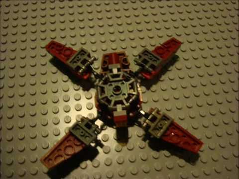 Lego Crab Droid Tutorial Youtube