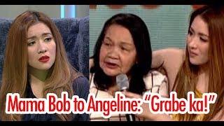 Mga Kalokohan ni Angeline Quinto kay Mama Bob Ibinuking ng Alalay Niya