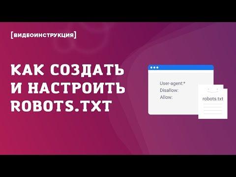 Как создать и настроить файл Robots.txt