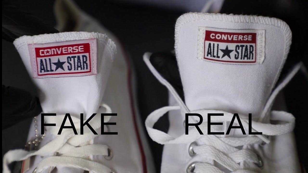 Fake vs Real Converse All Star - YouTube