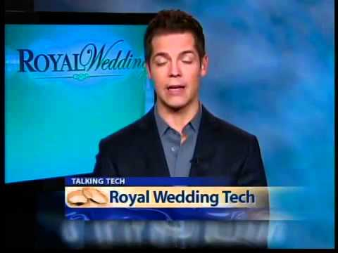 Technology centers around the royal wedding
